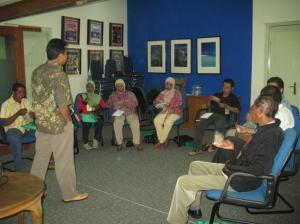 Presentasi oleh Fasilitator Jasuda Net