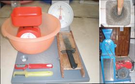 Peralatan pembuatan tepung komposit